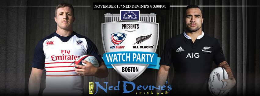 USA vs All Blacks Watch Party